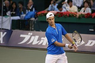ガスケ 2007 JAPAN OPEN ボレー ②