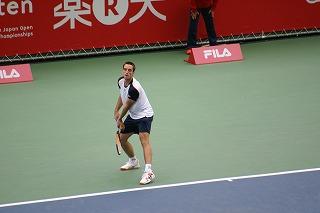 トロイツキ サーブ (ジャパンオープン2010)