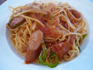 スパゲティ ナポリタン (ケチャップ料理)