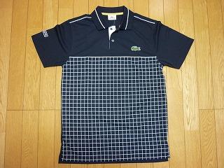 2010 ラコステ ゲームポロシャツ 紺 DH0668