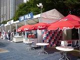 フィラ ブース ジャパンオープン2010
