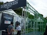 LONGINES ブース ジャパンオープン2010