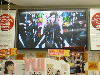 タワレコ 少女時代PV上映