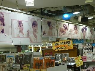 タワーレコード 少女時代 ポスター展