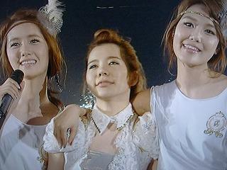 少女時代 さいたまスーパーアリーナ ユナ、サニー、スヨン