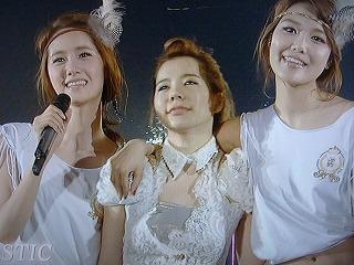 少女時代 JAPAN TOUR 2011 さいたまスーパーアリーナ(NHK MJ presents より)