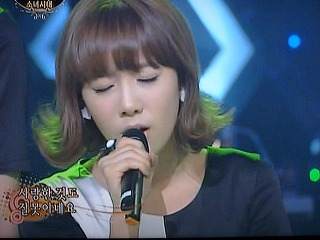 SBS「チョコレート」 少女時代 「 Mistake 」 テヨン