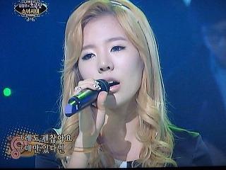 SBS「チョコレート」 少女時代 「 Mistake 」 サニー