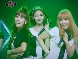 SBS「チョコレート」少女時代「 Gee 」 ジェシカ、ユナ、ティファニー