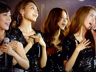 K-POP ALL star live in Nigata ティファニー、スヨン、ソヒョン、ユナ