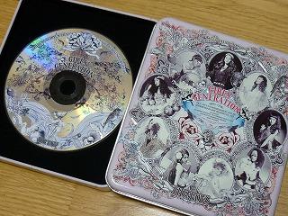少女時代 the boys CD デザイン