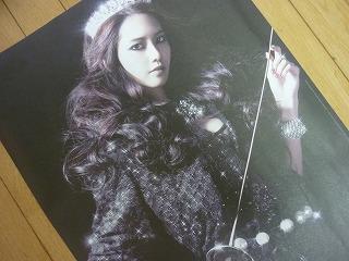 少女時代 3集 the boys CD 初回特典 ランダム ソロポスター ユナ