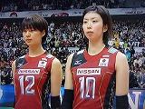 バレーボールWC 2011 木村沙織・岩坂名奈