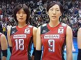 バレーボールWC 2011 森和代・石田瑞穂