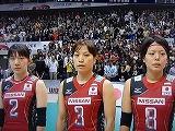 バレーボールWC 2011 中道瞳・竹下佳江・座安琴希