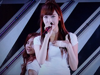 wowow SMTOWN LIVE In TOKYO 少女時代 ♪Gee ジェシカ