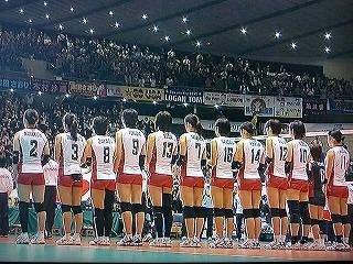 ワールドカップ2011 vs ドイツ 全日本女子メンバー
