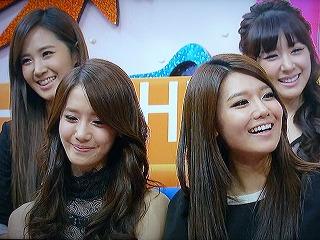 HEY!HEY!HEY! Xmas スペシャル、少女時代 ユリ、ユナ、スヨン、ティファニー