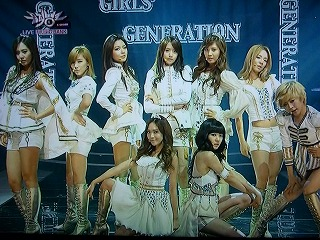 Music Bank 少女時代 The Boys
