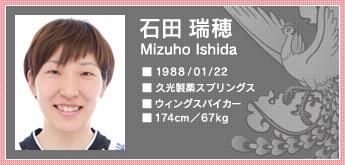 バレーボール 全日本女子 石田瑞穂 ワールドグランプリ 2011